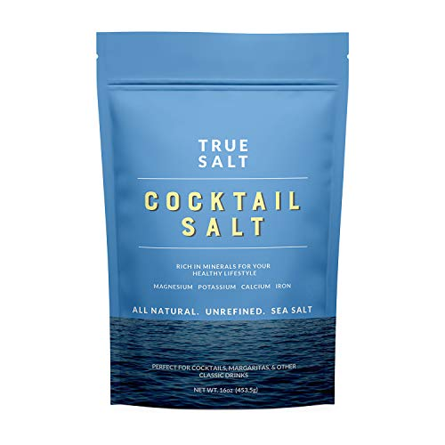 True Salt - Gourmet Cocktail Salt - 16 Ounce, 1 Bag