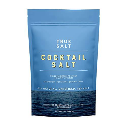 True Salt - Gourmet Cocktail Salt - 16 Ounce, 1 Bag