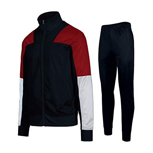 Diadora FZ Cuff Suit Core Tuta Blu Rosso 175102-60063 (S - Blu)
