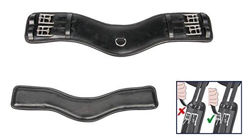 Harry\'s Horse Dressuursingel FreeFit, Farbe:schwarz, Größe:70cm