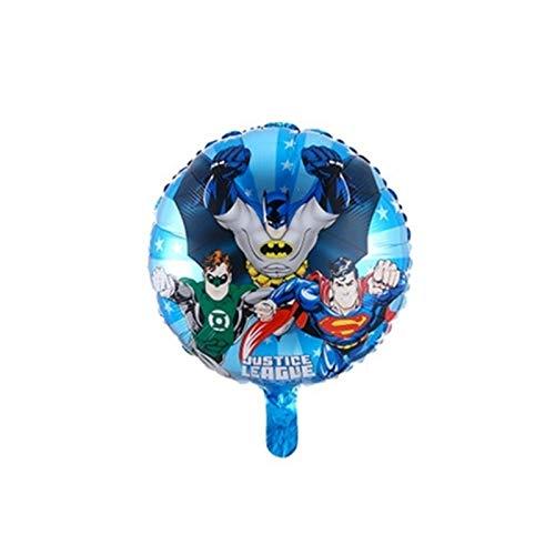 MUYANDZ Globo Globo superhéroe Spiderman, Superman de Juguete de Regalo de Iron...