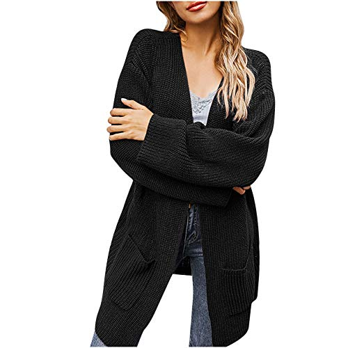 callm Fashion Women Knit Cardigan Tops Long Sleeve Knit winter Cardigan Sweater Solid Color Coat