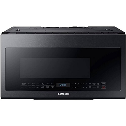 Samsung Black Stainless Steel Over-The-Range Microwave