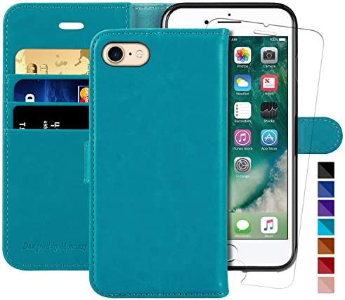 iPhone 7 Wallet Case iPhone 8 Wallet Case iPhone SE 2020 Case 4 7 inch MONASAY Glass Screen product image