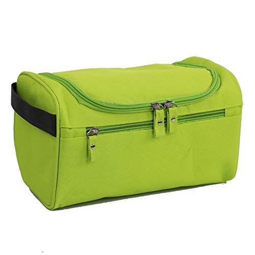 Hanging Toiletry Bag for Men & Women,Portable Travel Kit Cosmetic Organizer,Waterproof Makeup Shower Bag - green - 9.84x5.51x5.90