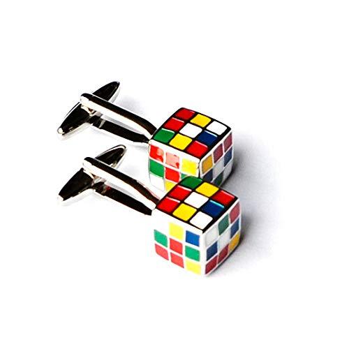 Quality Handcrafts Guaranteed Rubik's Cube Cufflinks