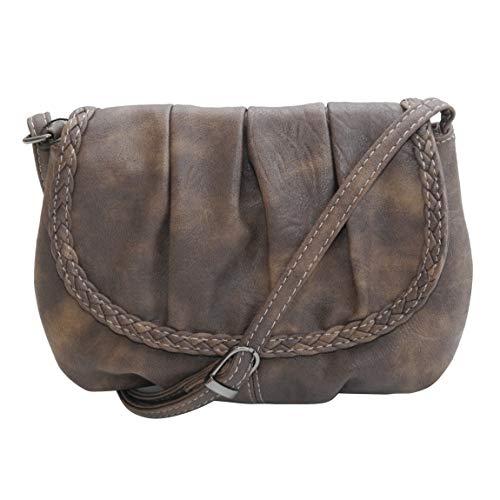 Bag Street - kleine damestas schoudertas handtas clutch - (kleur naar keuze) - gepresenteerd door ZMOKA®