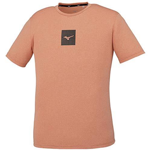 [Mizuno] トレーニングウェア Tシャツ 半袖 吸汗速乾 32MA0011 メンズ シャーベットオレンジ 日本 M (日本サイズM相当)