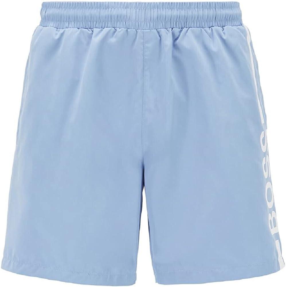 Hugo Boss Men's Light Blue Dolphin Swim Shorts XXL Classic Trunks