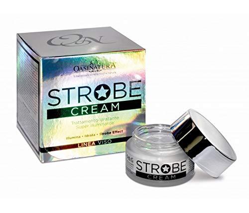CREMA SUPER ILLUMINATE VISO - STROBE CREAM con Acido Jaluronico, polvere di Perle di profondità, Argireline, Sugarderm 50 ml