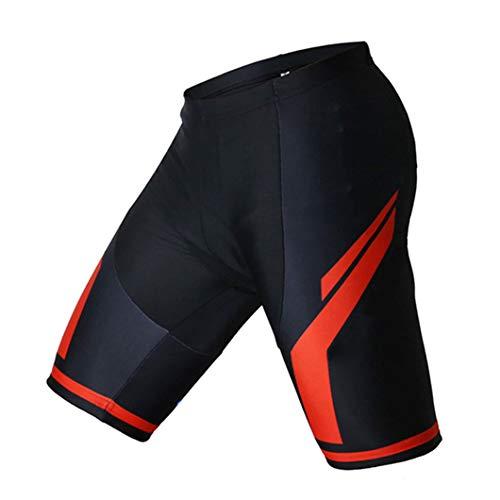 Fahrrad-Shorts für Herren, 19D, rutschfest, gepolstert, Gel, für Mountainbike, kurze Hose XL Fahrradhose 2