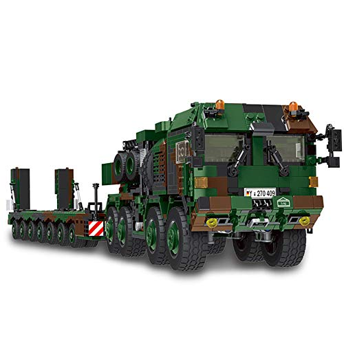New Xingbao Military Bricks Classic Germany Military Vehicle MAH HX-8 Elefant Tractor Truck Building Blocks Adult Toys 100% Compatible Major Brand (06046)