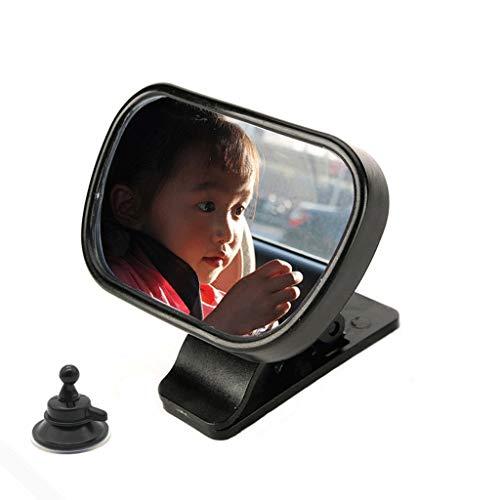 Kinderen en Mother's Rear Seat Children's Mirror - Rear View Kinderautozitje Mirror Wide Convex veiligheidsglas geheel en al geassembleerd - Car Achteruitkijkspiegel