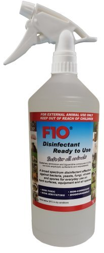 F10 1 litro Flacone spray pronto all'uso disinfettante con dispenser/Decontaminante...