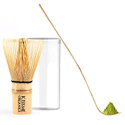 Bamboo Whisk and Small Tea Spoon