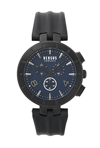 Versus Versace Orologio Cronografo Quarzo Uomo con Cinturino in Pelle S76120017