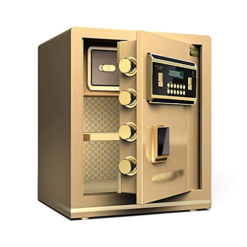 Cabinet Safes, Safe Box,Fingerprint Password All Steel Digital Safes,Electronic Cash Box, Home Safe Large Cabinet Safes for Id Papers, A4 Documents, Laptop Computers, Jewels Deposit Box Safety Box