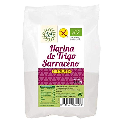 Solnatural Harina De Trigo Sarraceno Sin Gluten Bio 500 G 200 g