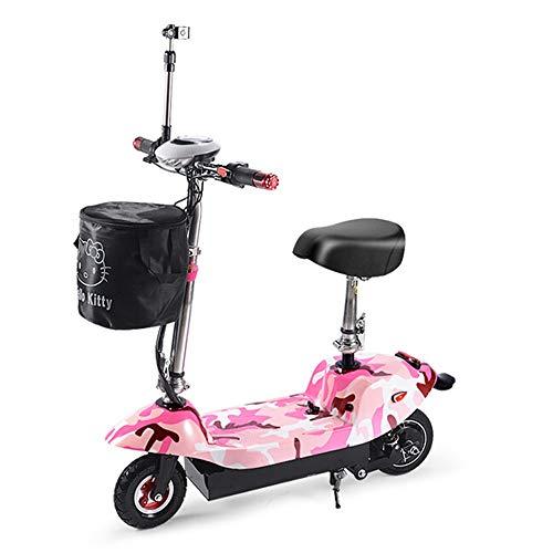 X Coche eléctrico Plegable Bicicleta eléctrica 36 La batería de Litio Puede...