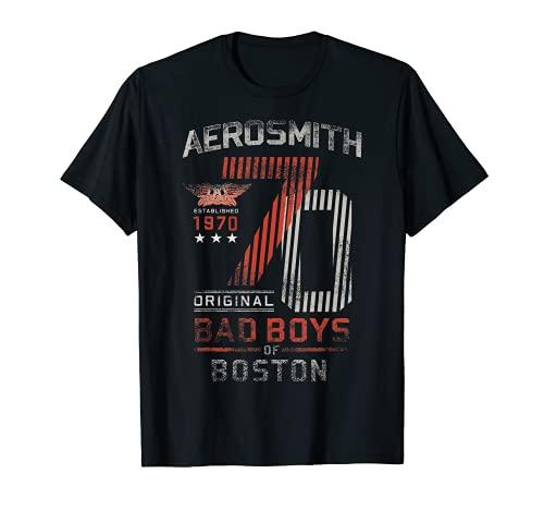 Aerosmith - 1970 Bad Boys T-Shirt