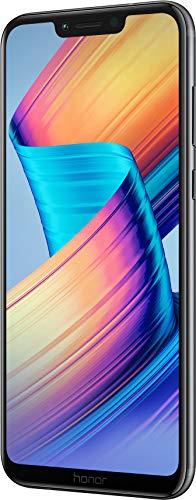 Honor Play Smartphone (16 cm (6,3 Zoll) rahmenloses FHD+ 19:9 Bildschirm, 64 GB interner Speicher & 4 GB RAM,Dual-Kamera und Dual-SIM, Android 8.1) Schwarz