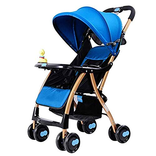 Why Choose Goquik Baby Stroller Can Sit Reclining Ultra Light Foldable Built-in Shock Absorber Troll...