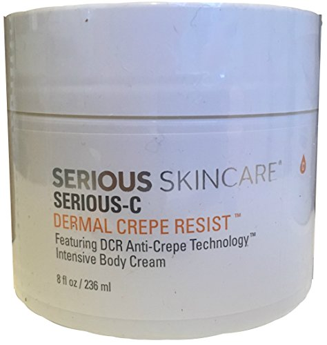 Serious Skincare Serious-C Dermal Crepe Resist 8 ounce Intensive Body Cream