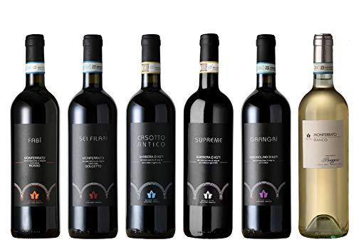 Boggero Bogge Wine - selezione Barbera d'Asti - Monferrato Dolcetto - Grignolino d'Asti - Monferrato rosso Nebbiolo - Monferrato Bianco Muller