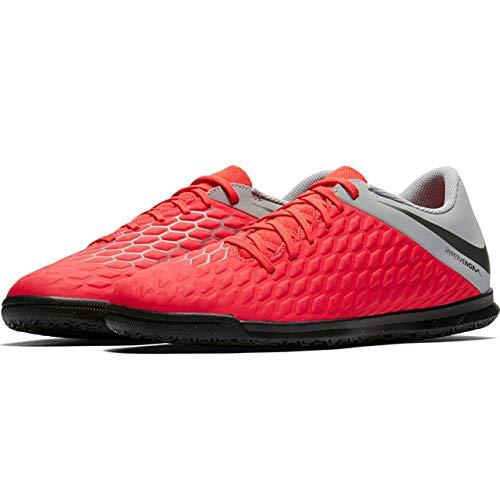Nike Hypervenom 3 Club Tf, Scarpe da Ginnastica Basse Unisex-Adulto, Multicolore (Lt Crimson/Mtlc Dark Grey/Wolf Grey 001), 40 EU