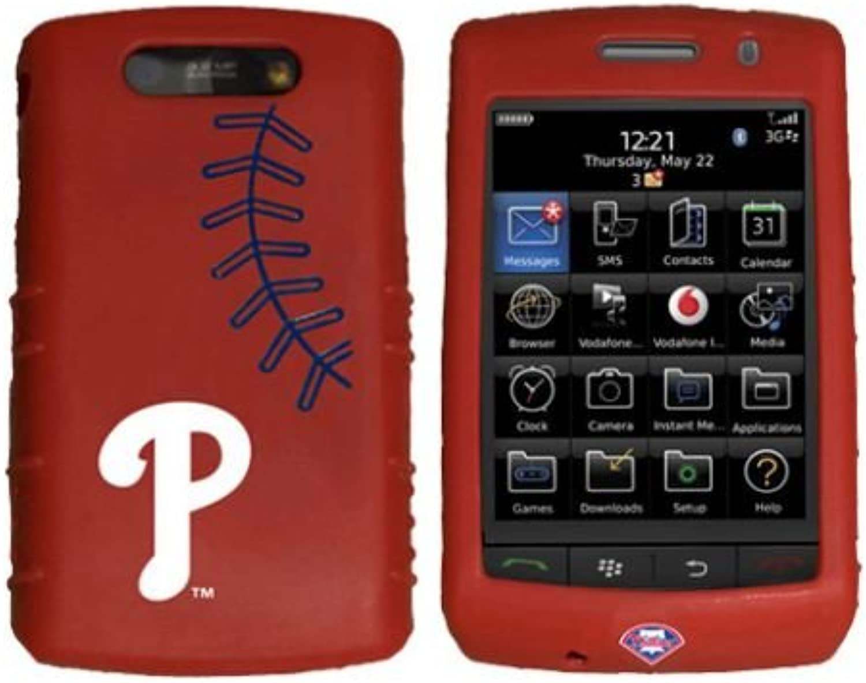 Philadelphia Phillies Cashmere Silicone Blackberry Storm Case