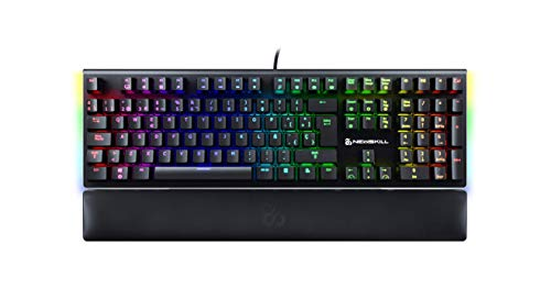 Newskill Serike Switch Red - Teclado Mecánico Gaming