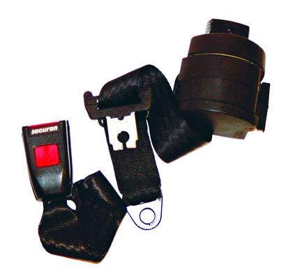 T1 und T2 Sicherheitsgurt Automatik 3 Punkt schwarz hinten Verglnr. 211857693C