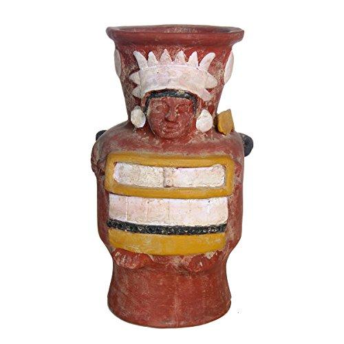 Discount Etnico - Idolo Vaso Tlaloc Ceramica Misura 48 x 26 cm
