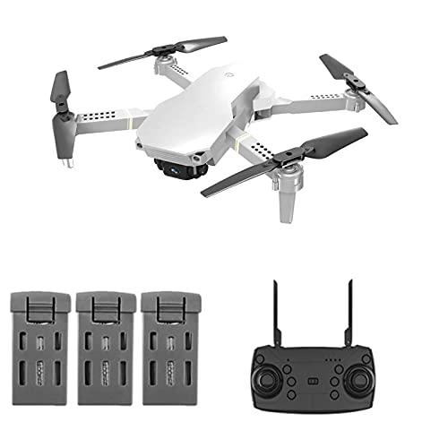 Mini Drone con Doppia Fotocamera per Adulti, WiFi FPV 4K HD Drone per Principianti, Pieghevole con Mantenimento dell'Altitudine, modalità Headless, One Key off/Landing, Analisi dell'interfaccia App