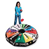 S&S Worldwide Wheel of Fun Inflatable Toss Game