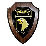 Armoiries Panneau/Plaque murale/armoiries–Airborne parachute chasseur US Army...