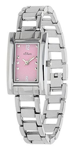 s.Oliver Damen-Armbanduhr Analog Quarz SO-15003-MQR