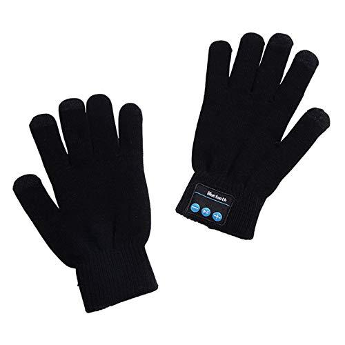 Lynn - Guantes de pantalla táctil con Bluetooth, para deportes al aire libre