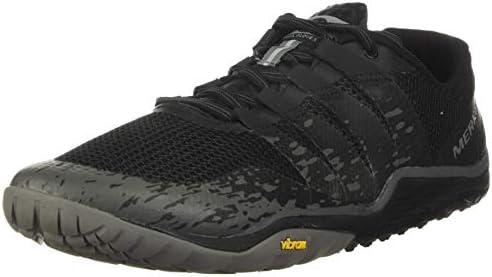 Merrell Trail Glove 5, Zapatillas Deportivas para Interior Hombre, Negro, 46 EU