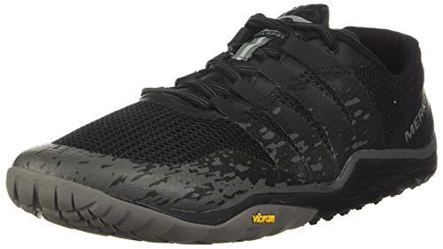 Merrell Trail Glove 5, Zapatillas Deportivas para Interior Hombre, Negro, 42 EU