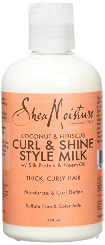 Shea Moisture Coconut and Hibiscus Curl and Style Milk, 254 ml