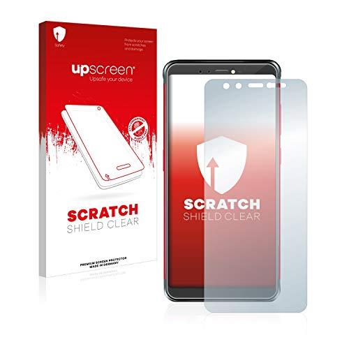 upscreen Pellicola Protettiva Compatibile con Vernee V2 PRO Protezione Proteggi Schermo – Trasparente, Anti-Impronte