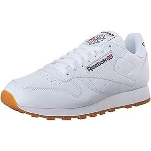Reebok Men's Classic Leather Sneaker, US-White/Gum, 12
