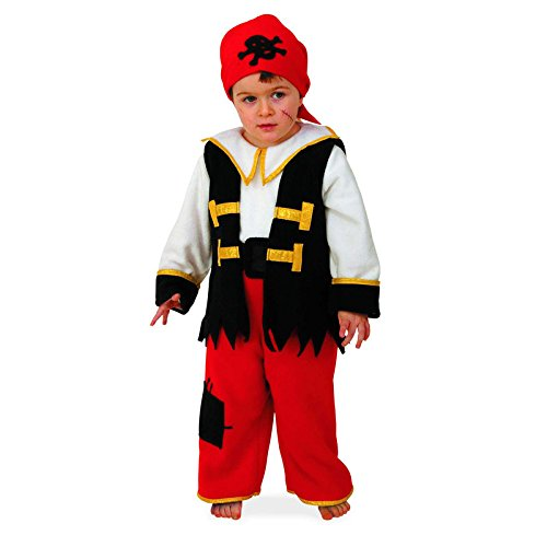 Giocoplast 3932 Costume Baby Pirata 0-1 anni