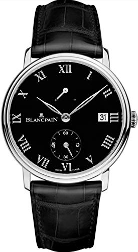 Blancpain Limited Edition Manual Wind, 8 Days Power Reserve, Platinum Mens Watch 6614-3437-55B