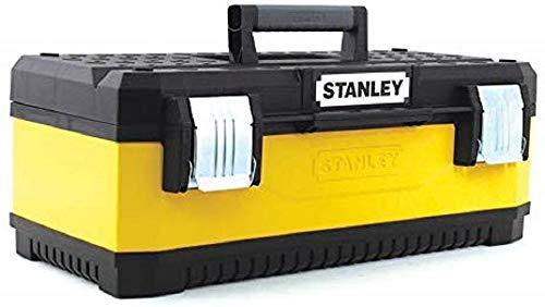 Caja amarilla para herramientas