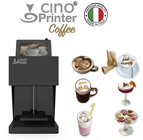 CINO PRINTER Coffee - Selfie 3D Coffee - Maker Maschine Coffee - Cappuccino