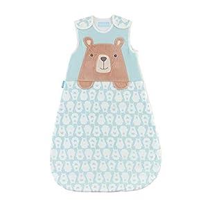 Grobag Bennie The Bear – Saco de Dormir (1 TOG) Azul Talla:6 – 18 Months