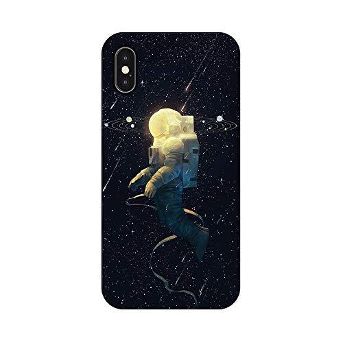 EREMITI JEWELS Cover Personalizzata Astronauta Spazio Universo Lost Smartphone 5 5C 6 6S 6 Plus 6S Plus 7 7PLUS 8 8PLUS X (iPhone 6)