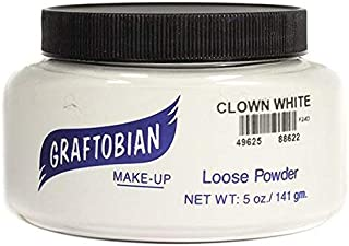 Graftobian Loose Powder (5 oz, Clown White)